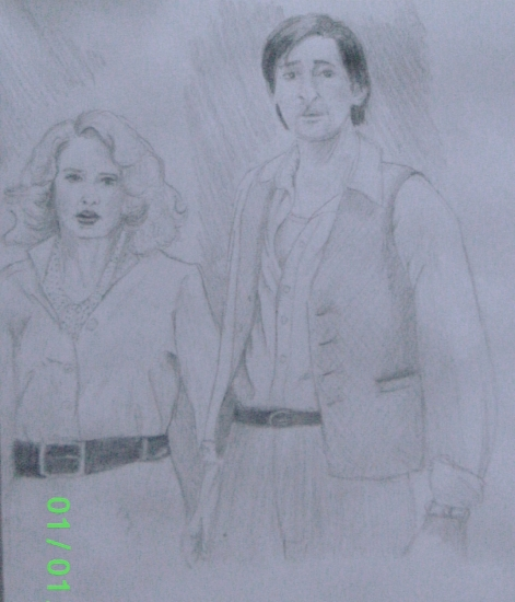 Naomi Watts, Adrien Brody by morgane